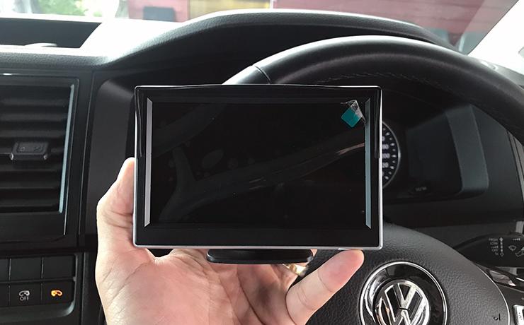 กล้องติดรถยนต์ 360 องศา มุมมองรอบคันในรถตู้ Caravelle