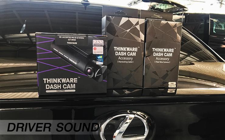 กล้องติดรถยนต์ THINKWARE F800 Pro