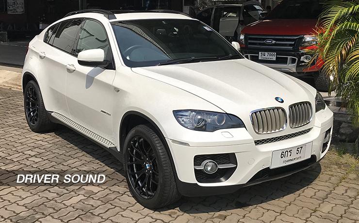 เครื่องเสียงติดรถยนต์ BMW X6 E71