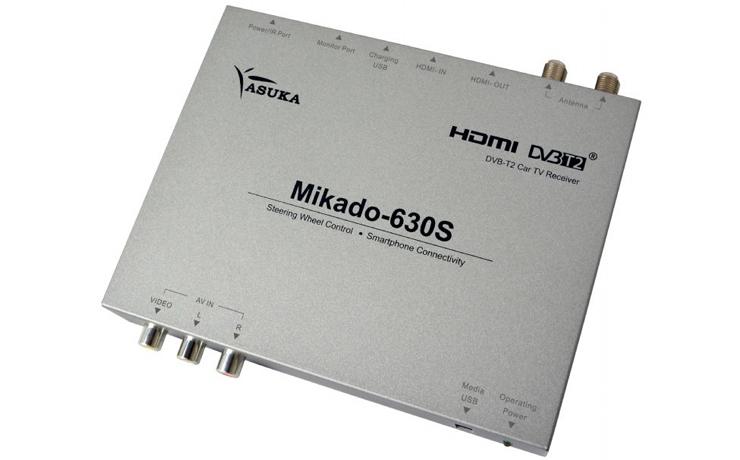 กล่องรับสัญญาณ ดิจิตอลทีวี ASUKA MIKADO 630S