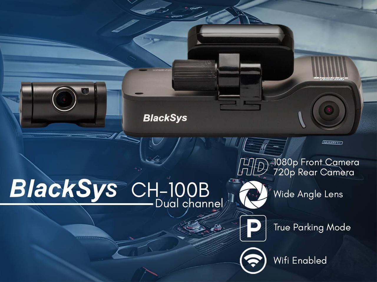 กล้องติดรถยนต์ Blacksys CH-100B กล้องติดรถยนต์คุณภาพสูงจากประเทศเกาหลีใต้