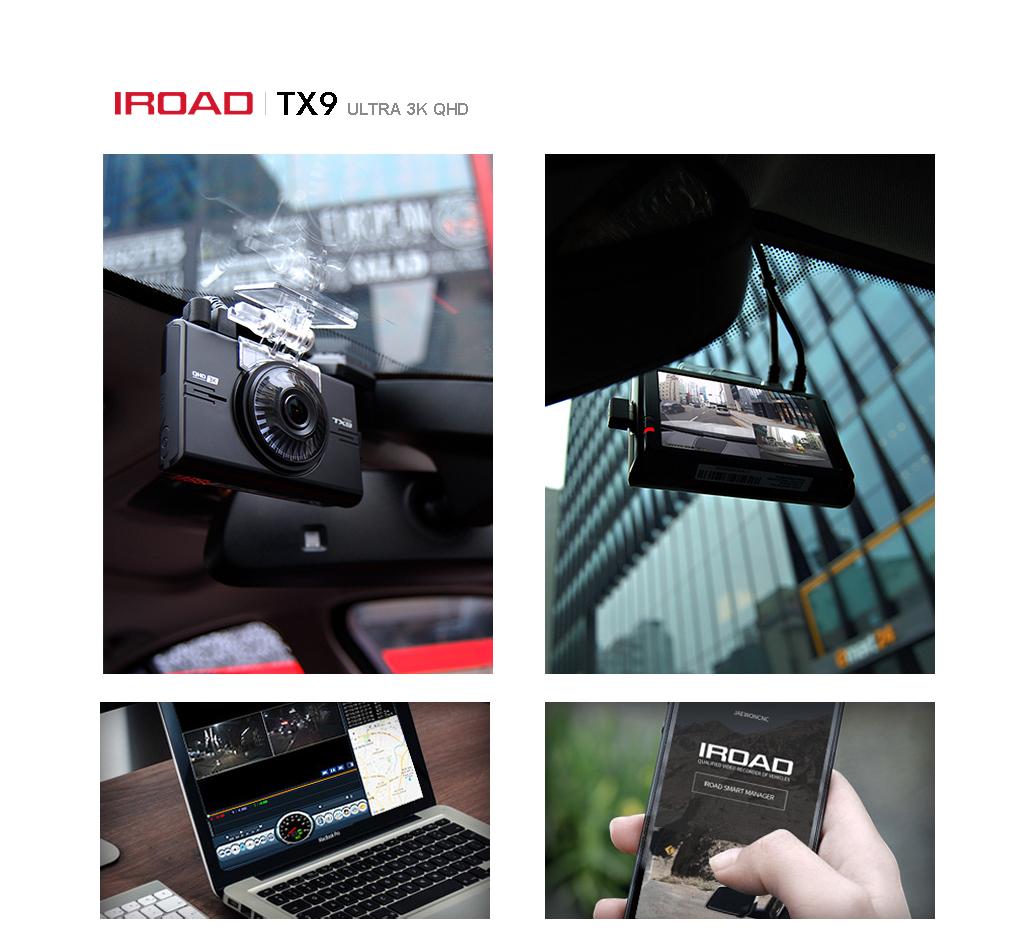 IROAD TX9 กล้องติดรถยนต์