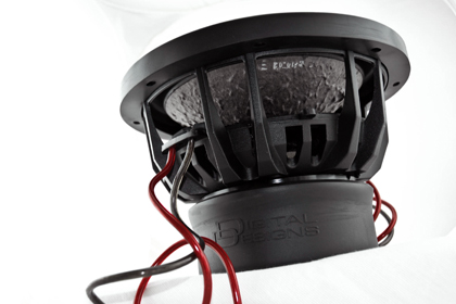 ซับวูฟเฟอร์ ติดรถยนต์ DIGITAL DESIGNS DD2510b-D4
